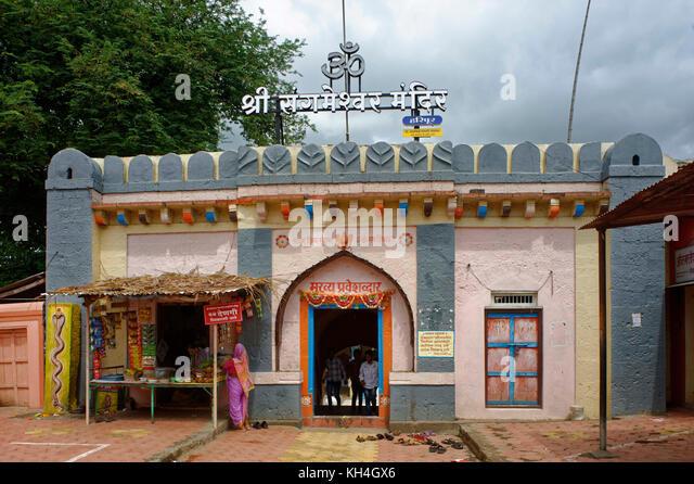 Sangameshwara Tempel, Sangli, Maharashtra, Indien, Asien Stockbild