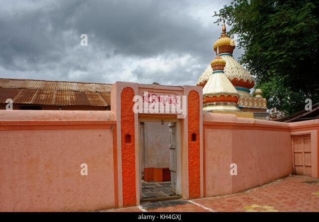 Shree Vishnu Tempel, Sangli, Maharashtra, Indien, Asien Stockbild