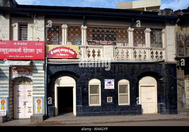 Shree mahasadhu annabuva Tempel, Maharashtra, Indien, Asien Stockbild