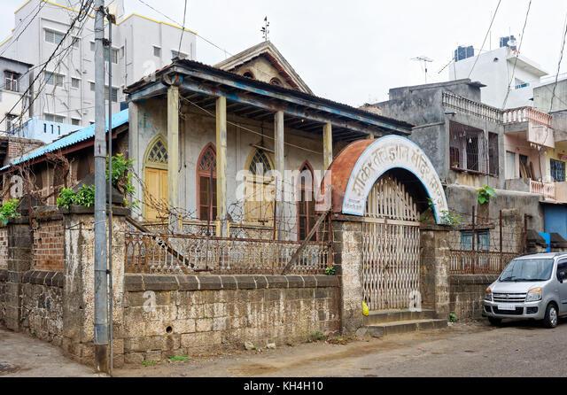 Shankar tatvadnyan Tempel, miraj, Maharashtra, Indien, Asien Stockbild