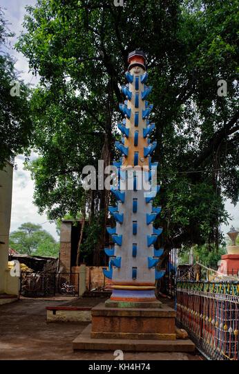 Bei deepmala anjaneya Tempel, belagavi, Karnataka, Indien, Asien Stockbild