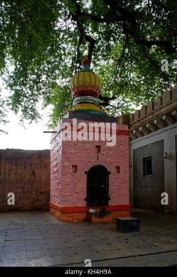 Alte hanuman Mandir in siddheshwar Tempel Komplex, Karnataka, Indien, Asien Stockbild