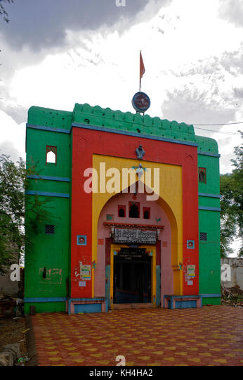 Eingang des siddheshwar Tempel, belagavi, Karnataka, Indien, Asien Stockbild