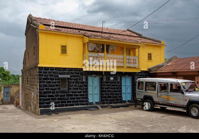 Altes Haus, kagwad, belgaum, Karnataka, Indien, Asien Stockbild