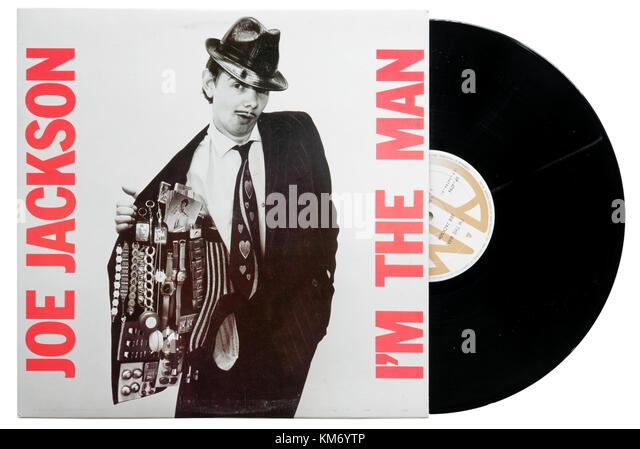 Joe Jackson ich bin der Mann album Stockbild