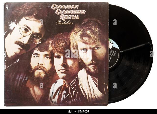 Creedence Clearwater Revival Pendel album Stockbild