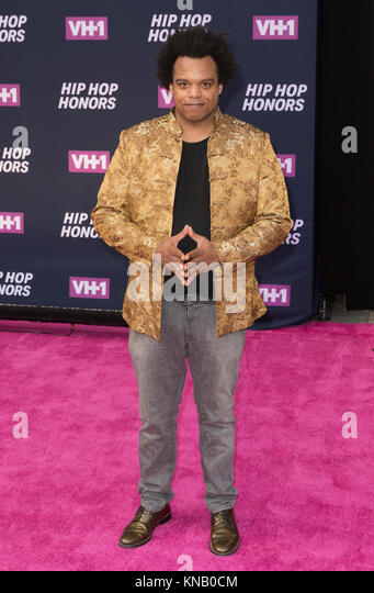 New York, NY - 11. Juli 2016: Elew besucht 2016 VH1 Hip Hop Honors: All hail The Queens am Lincoln Center Stockbild