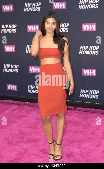 New York, NY - 11. Juli 2016: Danielle Herrington besucht 2016 VH1 Hip Hop Honors: All hail The Queens am Lincoln Stockbild