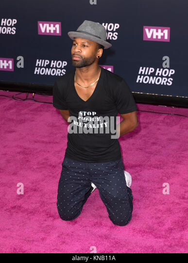 New York, NY - 11. Juli 2016: Johnny Ray Gill besucht 2016 VH1 Hip Hop Honors: All hail The Queens am Lincoln Center Stockbild