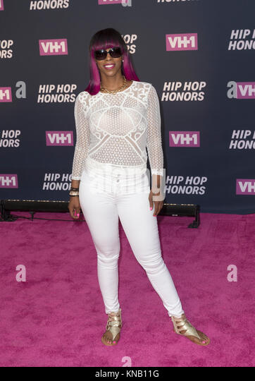 New York, NY - 11. Juli 2016: Babs besucht 2016 VH1 Hip Hop Honors: All hail The Queens am Lincoln Center Stockbild