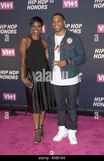 New York, NY - 11. Juli 2016: Afton Williamson, Mack Wilds besuchen 2016 VH1 Hip Hop Honors: All hail The Queens Stockbild