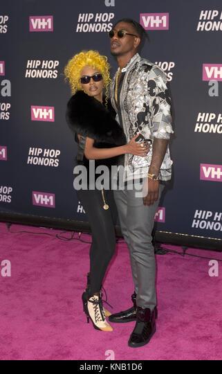 New York, NY - 11. Juli 2016: Teyana Taylor, Iman Shumpert ich besuchen 2016 VH1 Hip Hop Honors: All hail The Queens Stockbild