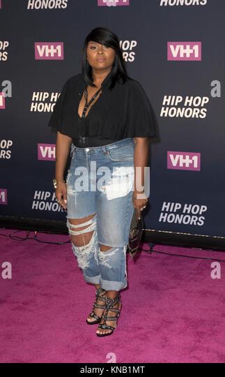 New York, NY - 11. Juli 2016: Ms Jade besucht 2016 VH1 Hip Hop Honors: All hail The Queens am Lincoln Center Stockbild