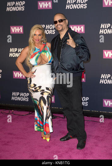 New York, NY - 11. Juli 2016: Coco, Ice T besuchen 2016 VH1 Hip Hop Honors: All hail The Queens am Lincoln Center Stockbild