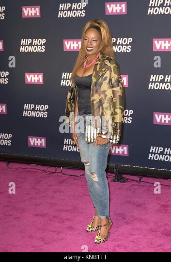New York, NY - 11. Juli 2016: Rah Digga besucht 2016 VH1 Hip Hop Honors: All hail The Queens am Lincoln Center Stockbild