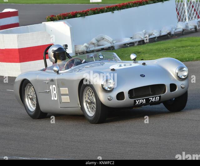Michael Milligan, HWM-Jaguar, XPA748, Freddie März Memorial Trophy, Goodwood Revival 2014, Goodwood Revival Stockbild