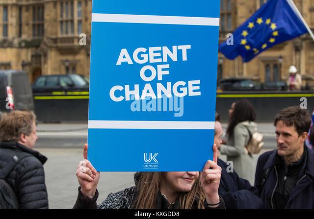 London, Großbritannien. 10 Jan, 2018. Die Befürworter der Aufforderung an die Regierung, die der Agent Stockbild