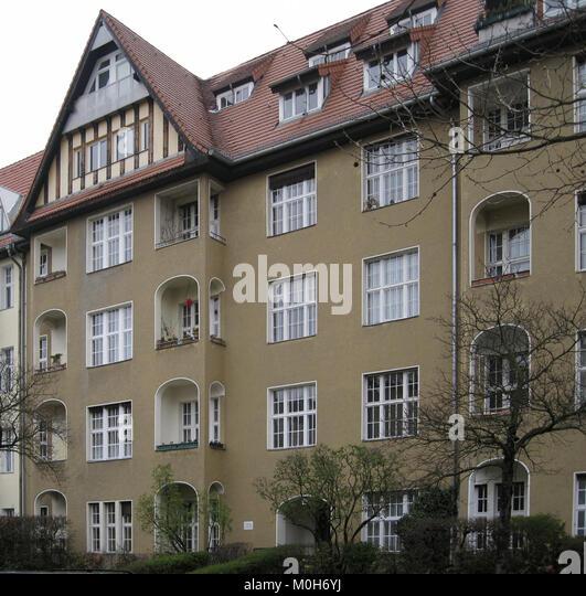 Burgunder Straße 2 Berlin-Wilmersdorf Stockbild