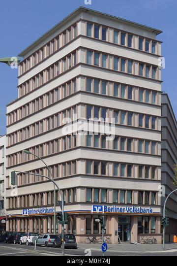 Brandenburgische Straße 86-87 Berlin-Wilmersdorf Stockbild
