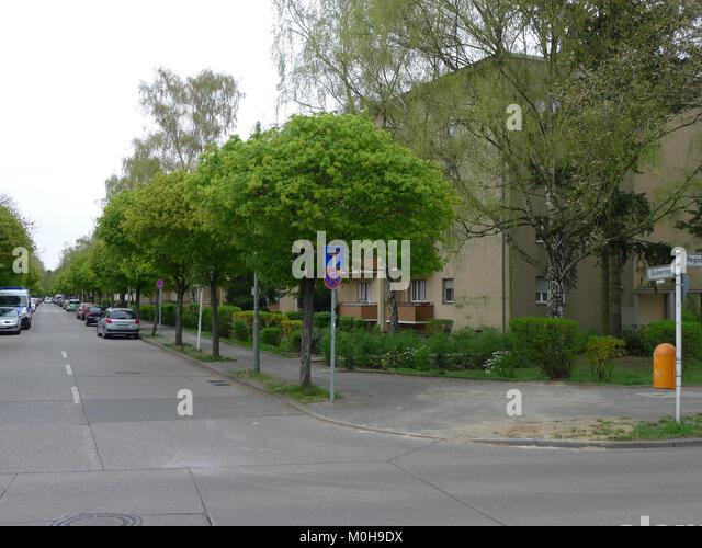 Büdnerring (berlin-reinickendorf) Stockbild