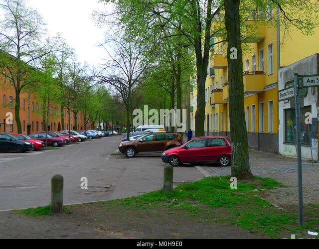 Brienzer Straße (berlin-reinickendorf) Stockbild