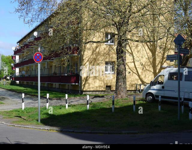 Büchsenweg (berlin-reinickendorf) Stockbild