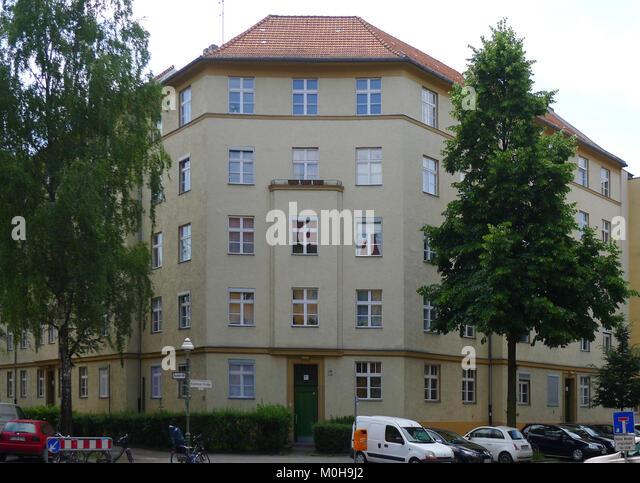 Brahestraße 32-33 (Berlin-Charlottenburg) Stockbild