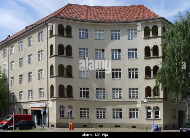 Brahestraße 22-27 A (Berlin-Charlottenburg) Stockbild