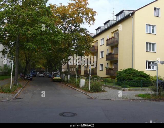(Brigittenstraße Berlin-Lankwitz) Stockbild