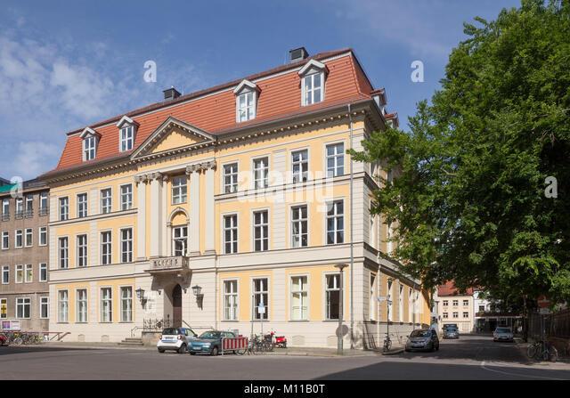 Palast von Podewils, Barock Adel Palace in der Berliner Kreuzgang Viertel, Museen, Theater und kulturelle Ort, Berlin, Stockbild