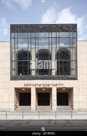 Komische Oper, Oper, Berlin, Deutschland, Europa Stockbild