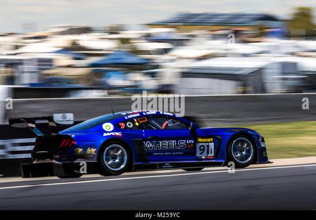 Mount Panorama Circuit, New South Wales, Australien. 05-02-2108. YNA Autosport - McLaren 650 S GT3 - Scot mclaughlin, Stockbild