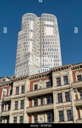 Upper West Zoofenster, Atlas Tower, Breitscheidplatz, City West, Berlin, Deutschland Stockbild