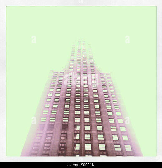 Gebäude, die aussehen wie Raumschiffe - Chicago Stockbild
