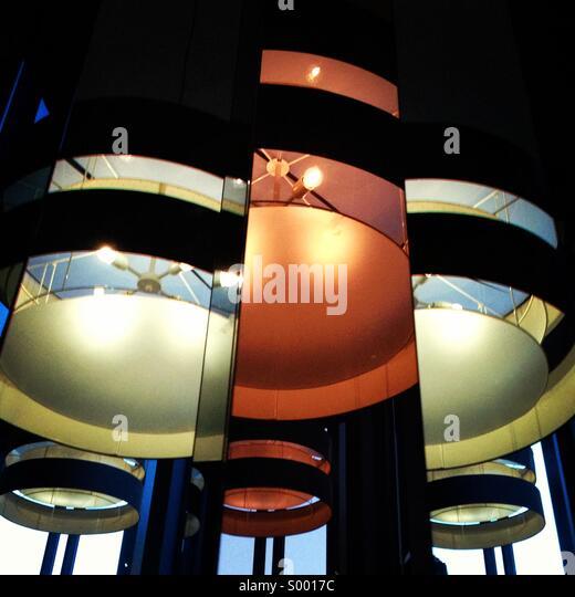 Moderne Beleuchtung Stockbild
