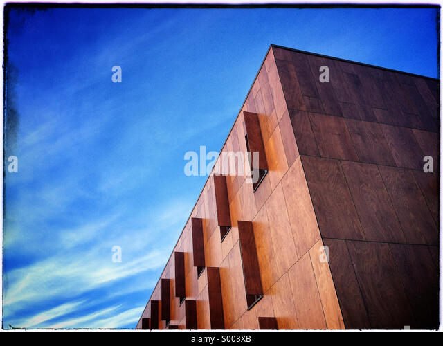 Ecke des Gebäudes, London, UK Stockbild