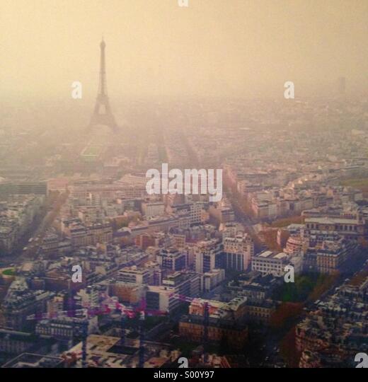 Blick auf Paris Stockbild