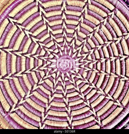 Korb-Muster. Stockbild
