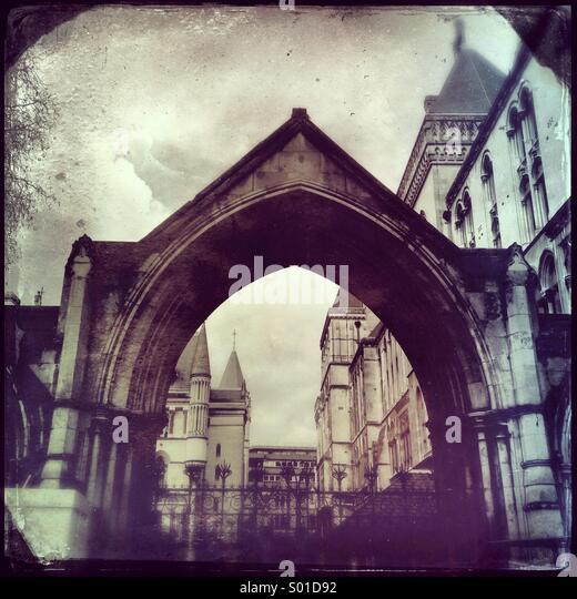 Historische Gebäude von London Stockbild