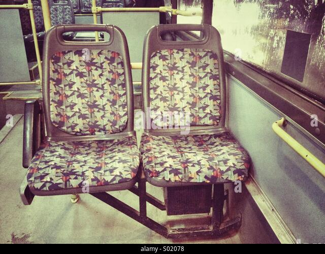 Bus-Stühle Stockbild