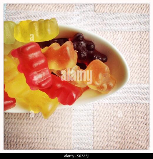 Gummibärchen Stockbild