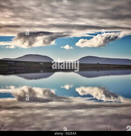Reflexion... Stockbild