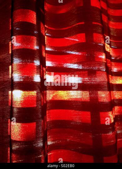 Abstrakte Vorhänge. Stockbild