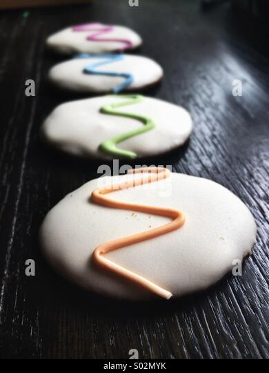 Ostern-Kekse (Cookies) Stockbild