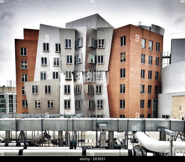 Künstliche Intelligenz am MIT Stockbild
