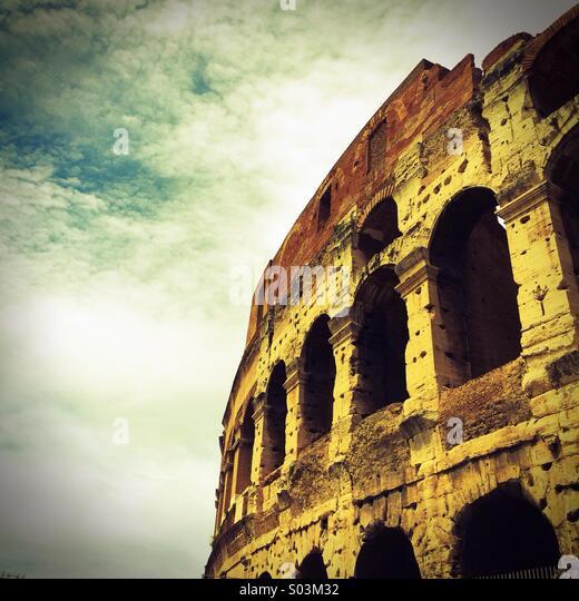 Kolosseum, Rom, Italien Europa Stockbild
