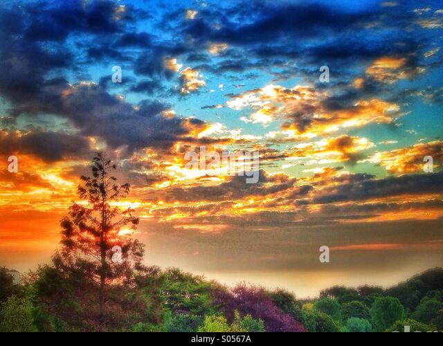 Sunrise Stockbild