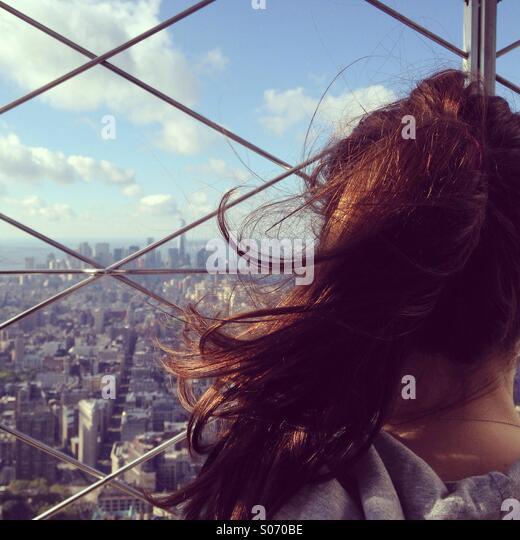 Empire State Gebäude nyc Stockbild