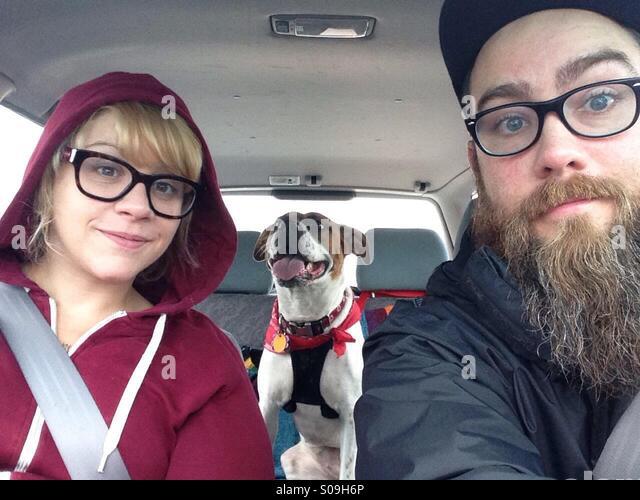 Familie Fahrt. Stockbild