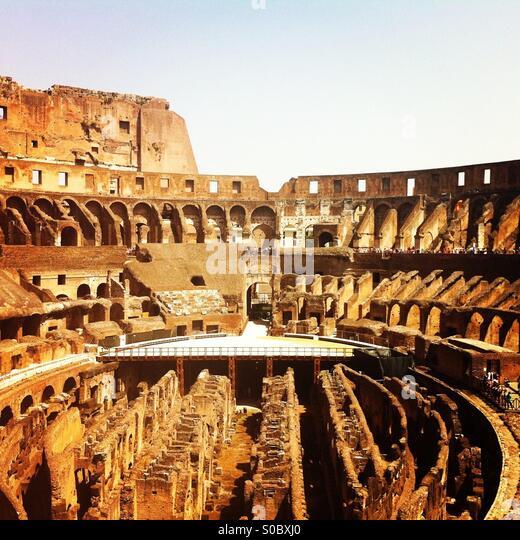 Kolosseum, Rom, Italien Stockbild